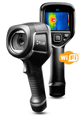 FLIR E6 Infrared Camera with MSX and Wi-Fi