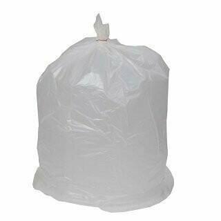 6 Mil Clear Trash Bags 33