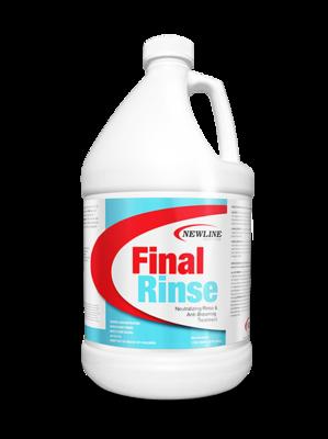 Final Rinse (Gallon) by Newline   Carpet Neutralizing Rinse & Anti-Browning Treatment