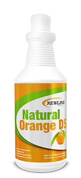 Natural Orange DS (Quart) by Newline   Solvent Booster and  Carpet Spotter
