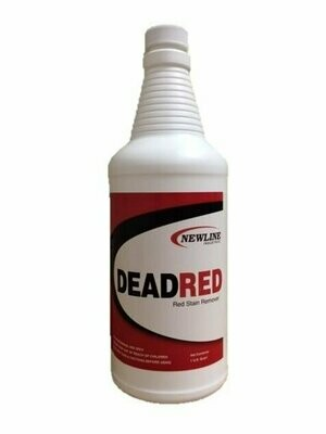 Dead Red (Quart) by Newline   Red Stain Remover