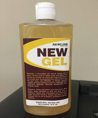 New Gel (Pint) by Newline   Natural Orange Spot and Stain Remover