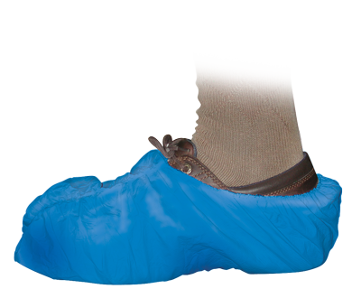 Blue Shoe Covers | 50 Pack