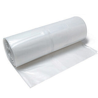 6 Mil Poly Sheeting - 20' x 100' Clear (2,000 SF) Free Freight!