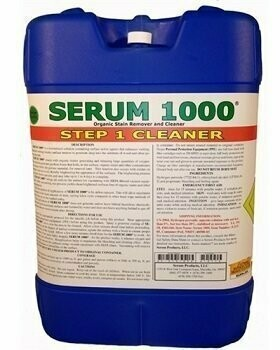 Serum 1000 (5gal. Jug, Call for Shipping Cost) by Serum Systems - Mold Stain Cleaner