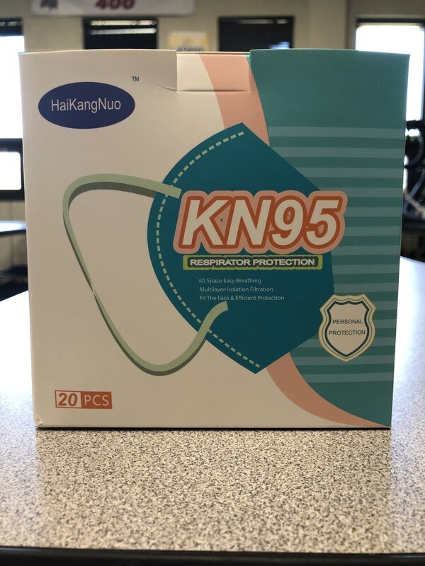 KN95 CE & FDA Approved Mask (20/Box)