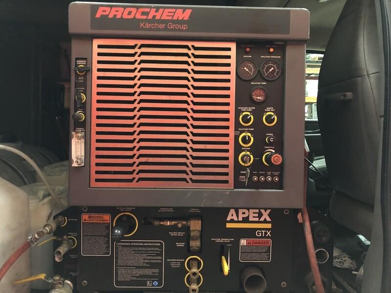 Prochem Apex GTX Carpet Cleaning Truckmount Machine (90 Day Warranty)