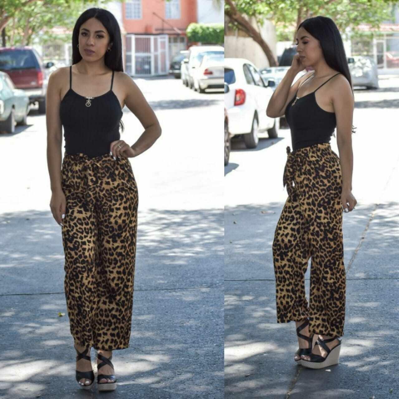 Maxi pantalon estampado-3582-1