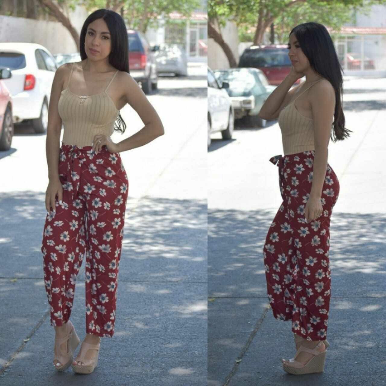 Maxi pantalon estampado-3582-6