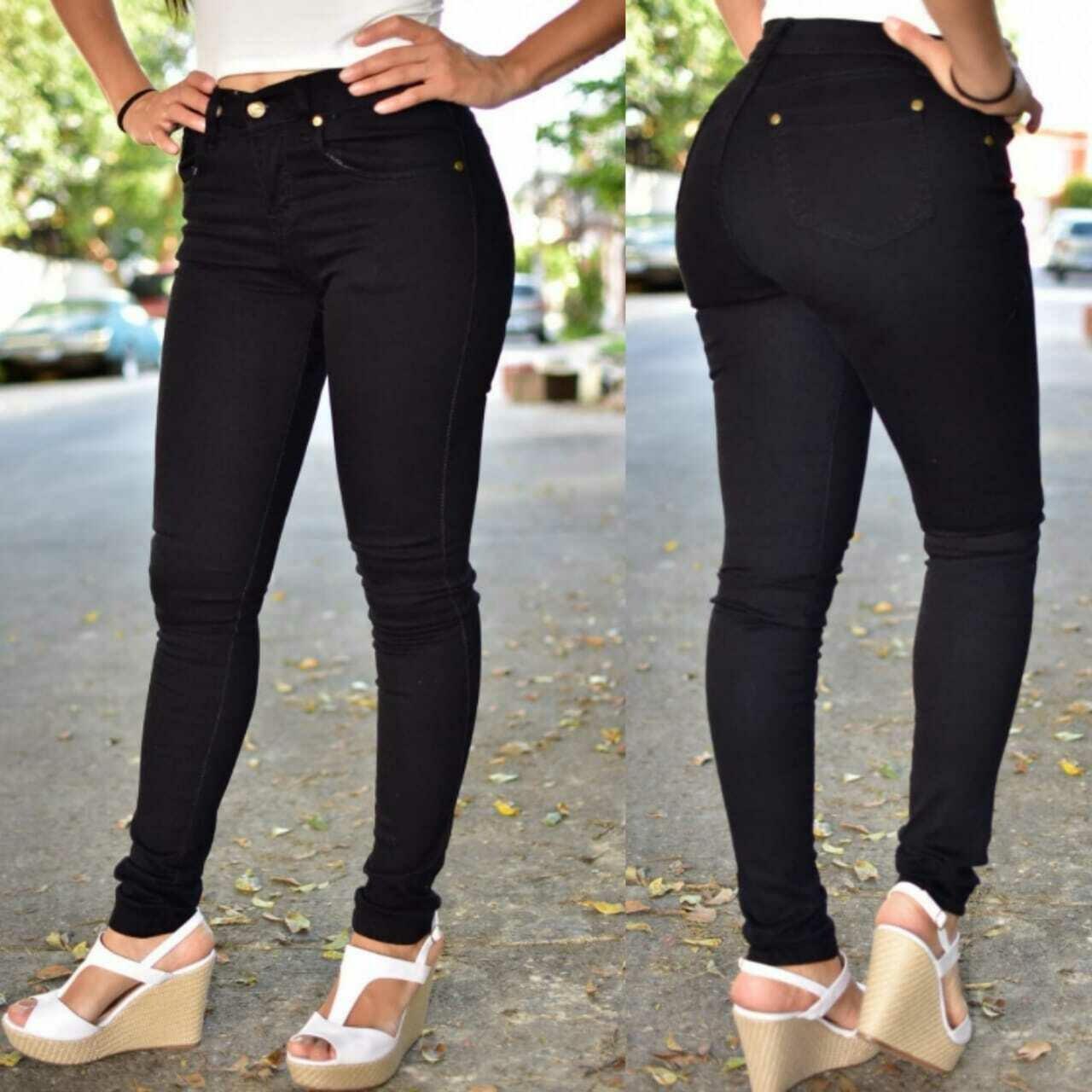 Pantalon skinny negro