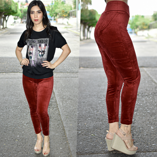 LEGGINGS TERCIOPELO-TINTO-00192