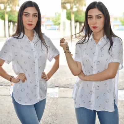 camisa boton-00305