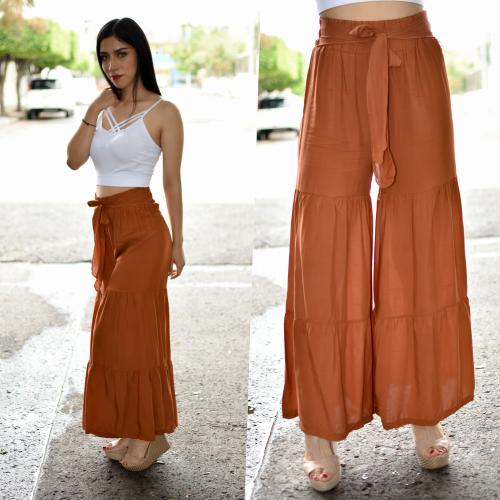 Maxi pantalon seccionado chedron