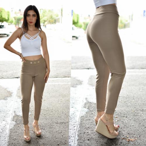 Pantalon jeggins - Beige
