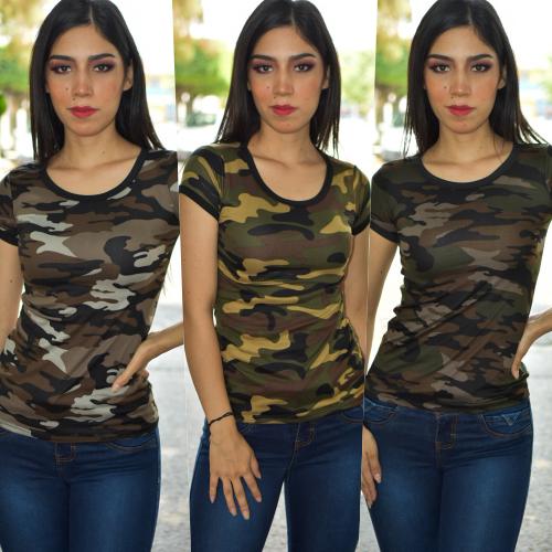 paquete de 3 blusa camuflaje-00465