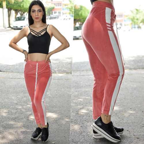 Leggins tipo pants Rosa