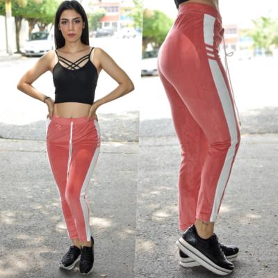 Leggins tipo pants Rosa-00545