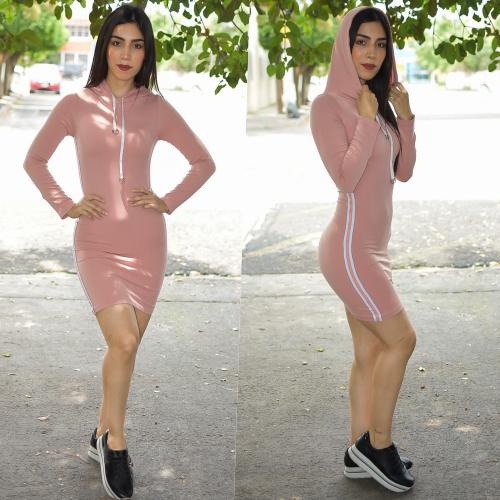 Vestido Deportivo Rosa