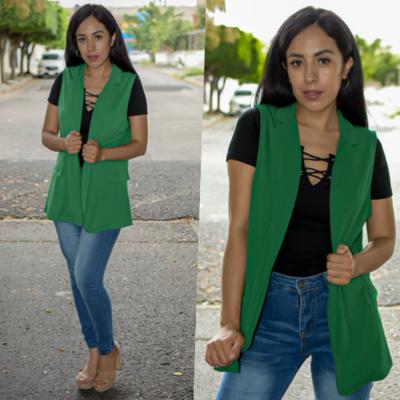 Chaleco de vestir- Verde