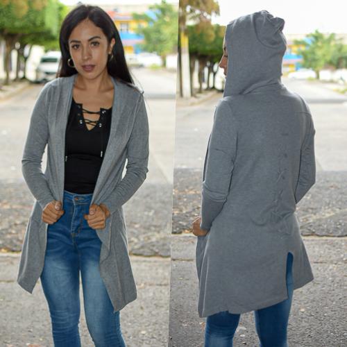 Ensamble con gorro -gris-00819