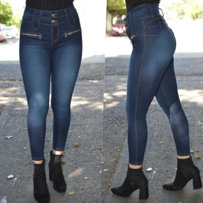 Pantalon tobillero con cierres laterales- obscuro-00947