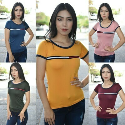 Blusa Basica tipo tommy-01163