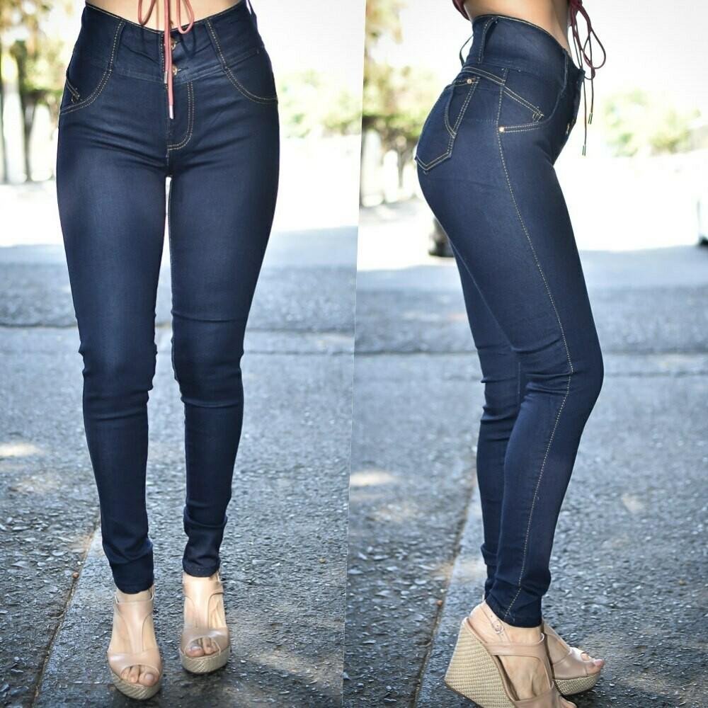 Pantalon skinny 2 botones   modelo 01187