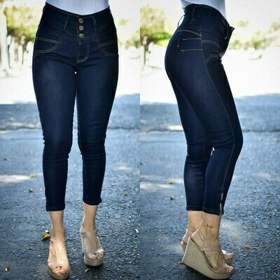 Pantalon Tobillero con cierres modelo 01242
