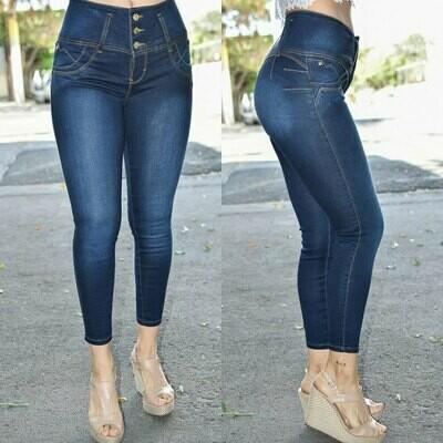 Pantalon Tobillero Pretina Alta modelo-01271