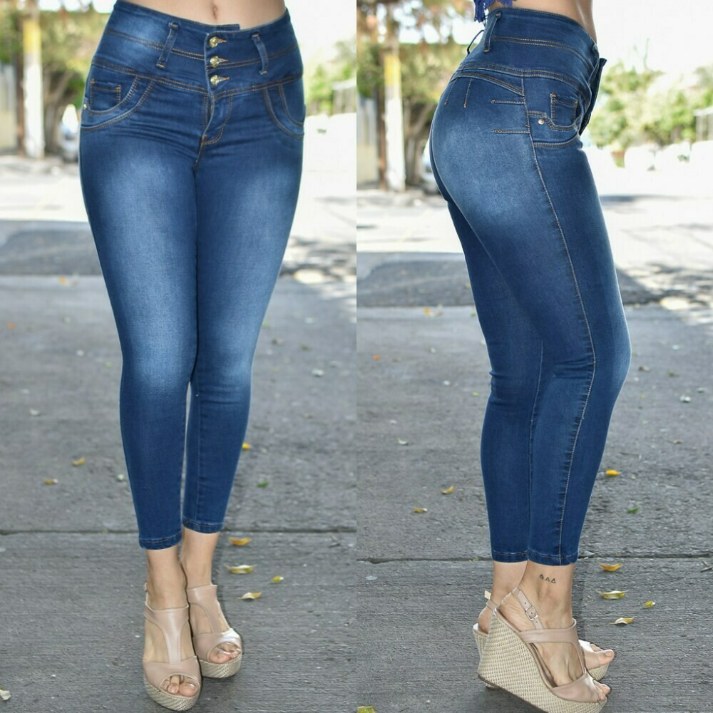 Pantalon Tobillero Costuras modelo-01273