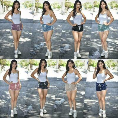 🎀Paquete con 10 Short deportivo de pana modelo PPB49🎀