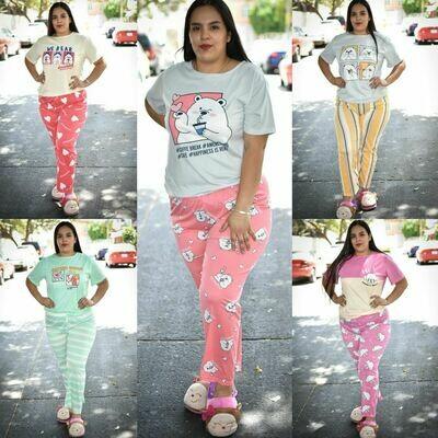 Pijama de pantalon modelo SUBG2