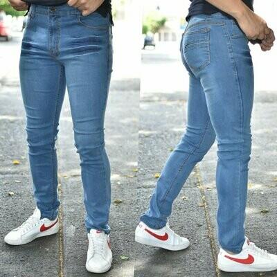 Pantalon skinny wiskas  azul claro caballero MODELO 01356