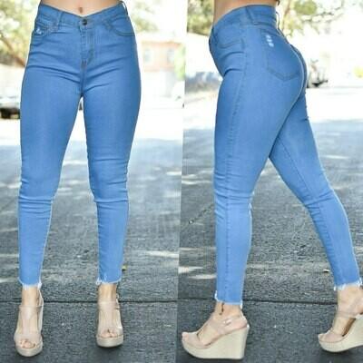 Pantalon tobillero sin costuras modelo-01366