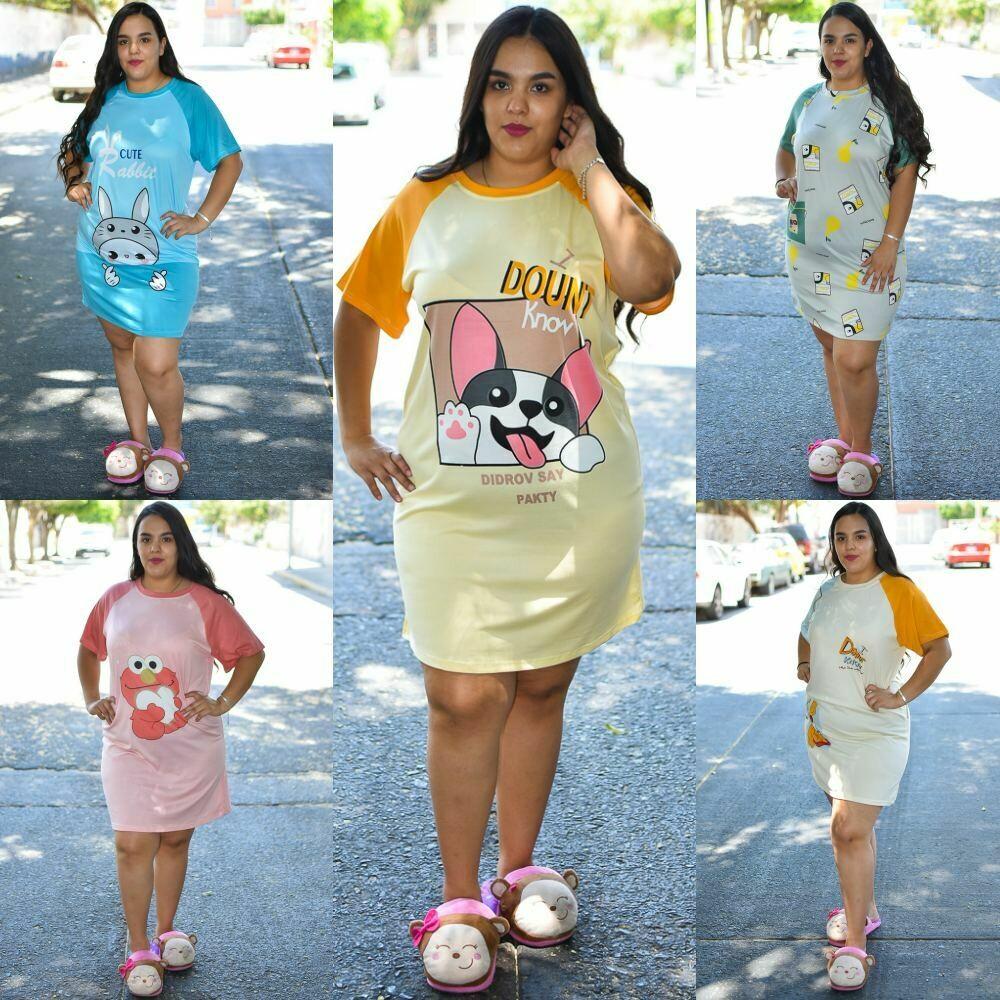 🎀 Paquete de 10 Pijamas vestido modelo 01387-10🎀