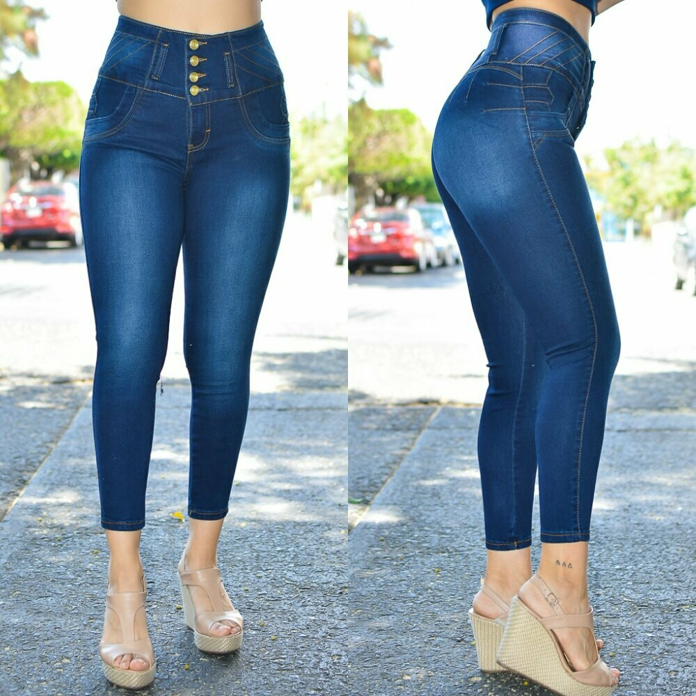 Pantalon de mezclilla modelo-01398