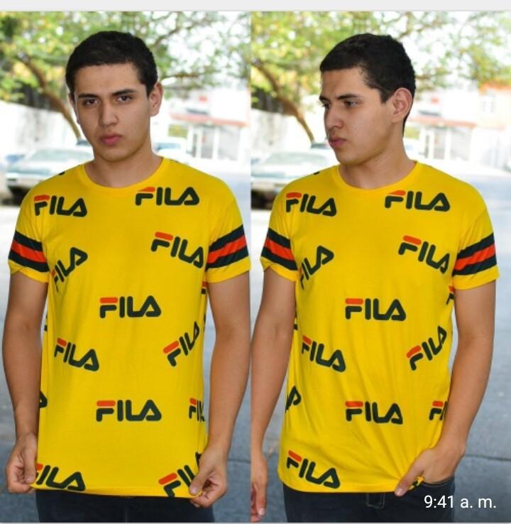 Playera de Caballero Modelo 01412