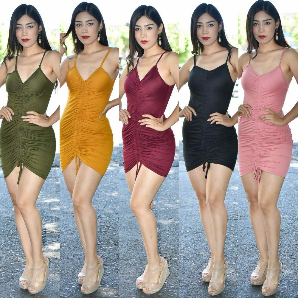Vestido Corrugado  modelo 01414