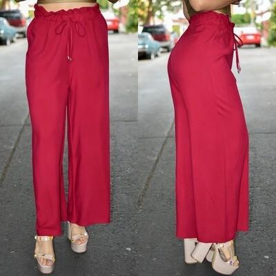 🎀Maxi Pantalon modelo 01466-tinto🎀