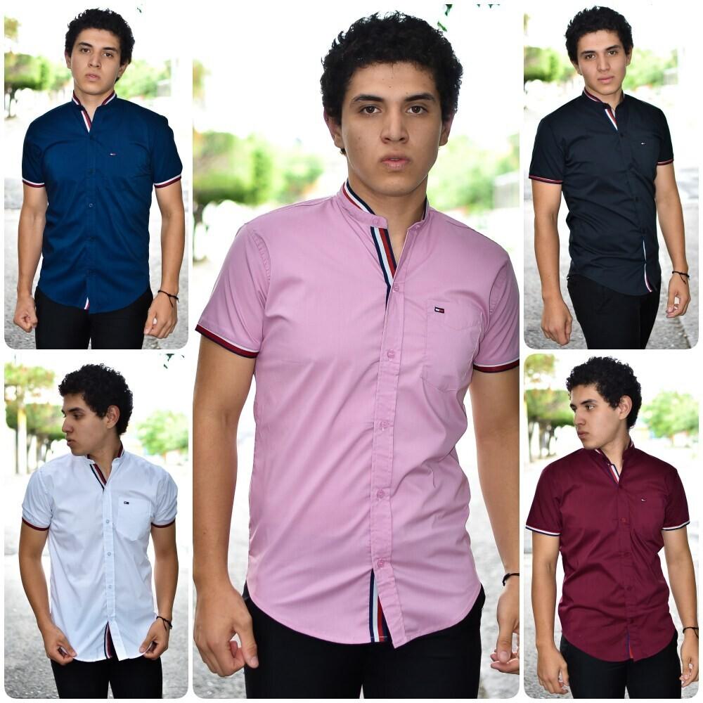 Camisa cuello MAO TOMMY modelo-01545