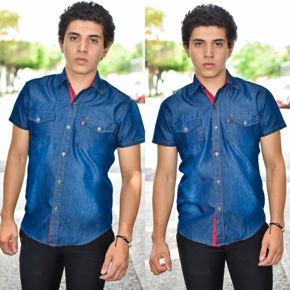 Camisa Levi´s Azul marino modelo-01551