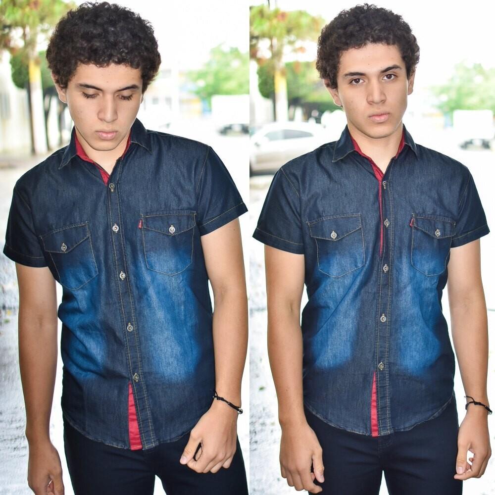 Camisa Levi´s Negra modelo-01553