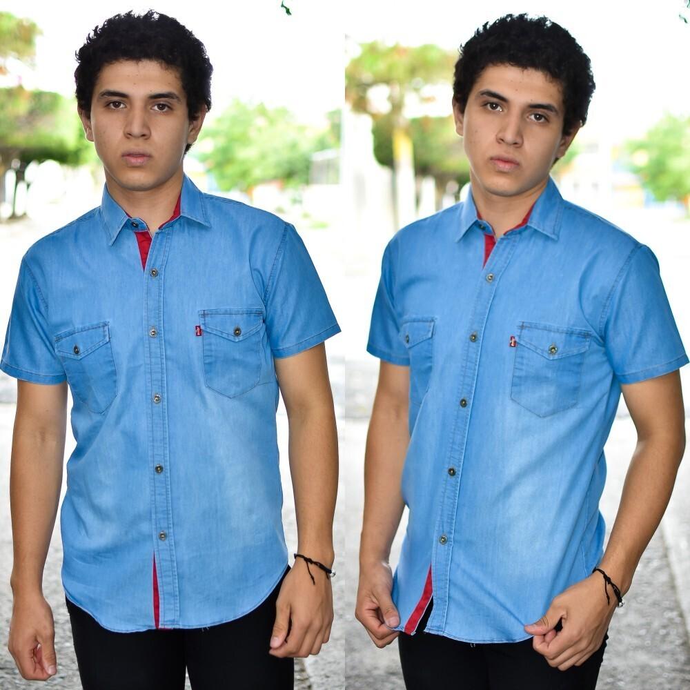 Camisa Levi´s Azul cielo modelo-01552