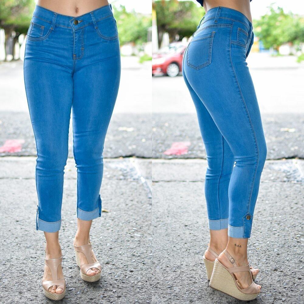 🎀 Pantalon Tobillero con dobles modelo 01560🎀
