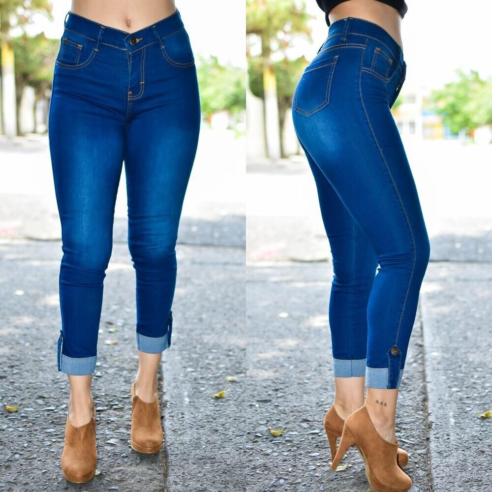 🎀 Pantalon Tobillero con dobles modelo 01561🎀