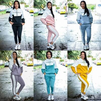 Pants Cordinado  Afelpado  Modelo 01666