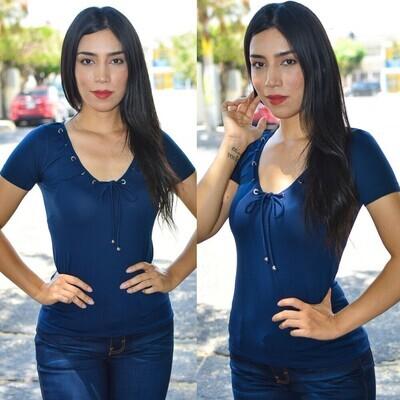 Blusa de Lycra modelo-SNT95-MARINO