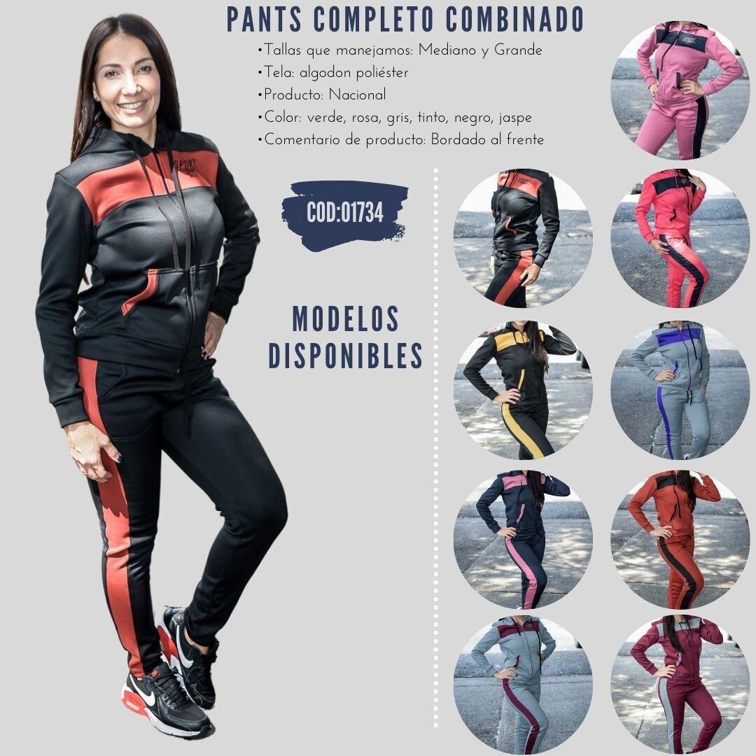 Pants completo combinado modelo-01734
