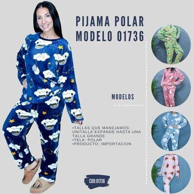 Pijama Polar modelo 01736