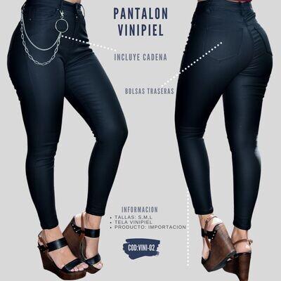 Pantalon vinipiel modelo VINI-02